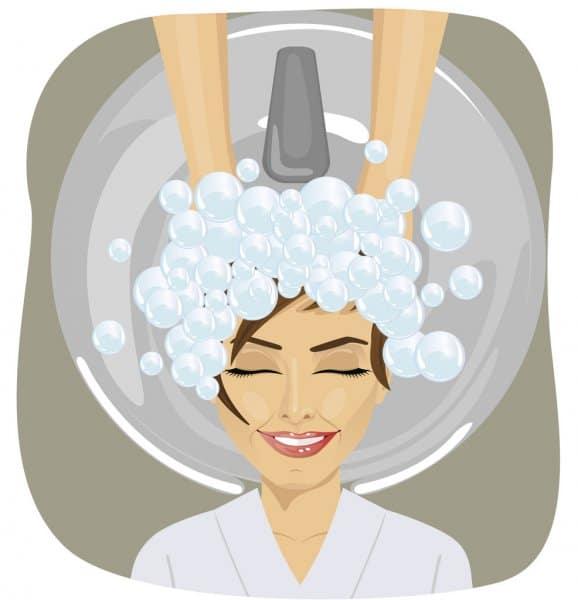 كيف اغسل شعري