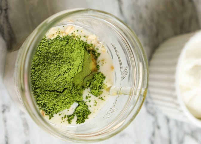 الشاي الأخضر والزبادي للوجه أونيلا