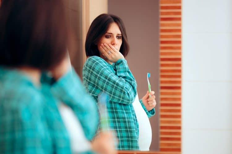 وجع الأسنان للحامل