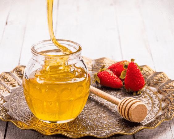 قناع الترطيب عسل وفرولة