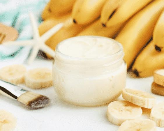 قناع الموز للبشرة الجافة