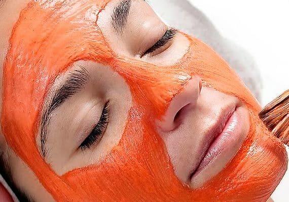 ازالة الخلايا الميته من الوجه