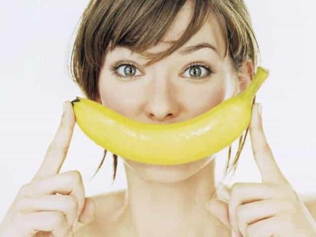 تقشير الموز