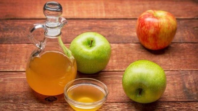 خل التفاح للعناية بالبشرة المختلطة