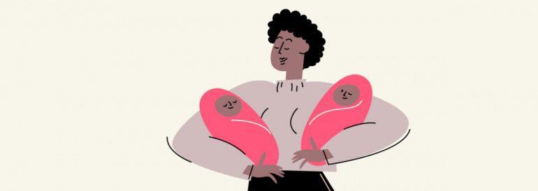 كيف تحملين بتوأم: 5 عوامل تزيد من احتمالات الحمل بتوأم