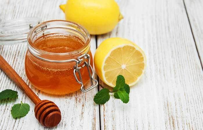 الليمون والعسل لتبيض الوجه - أونيلا