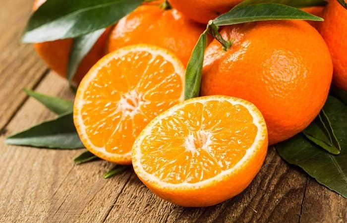 ماسك قشر البرتقال أو الليمون والحليب