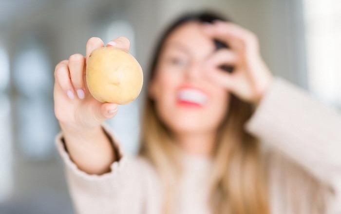 9 وصفات البطاطس للهالات السوداء تجربتي