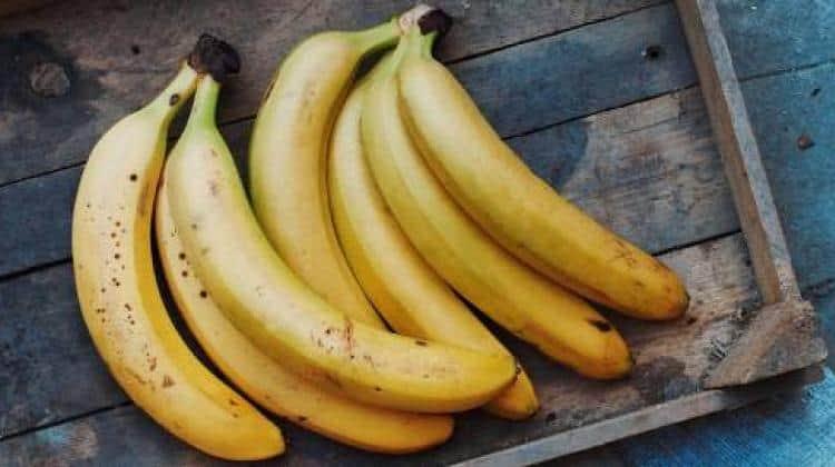 قناع الموز للبشرة السمراء