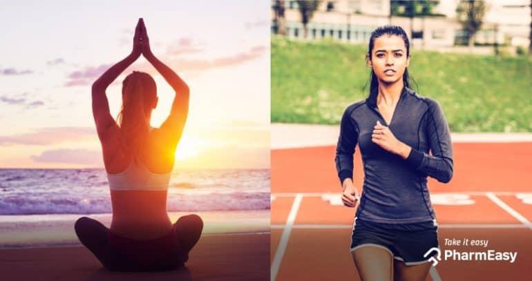 اليوجا مقابل الجري – أيهما أفضل لفقدان الوزن ؟