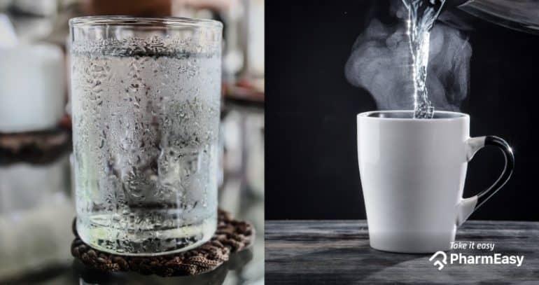 أيهما أفضل الماء البارد أم الساخن للشرب ؟