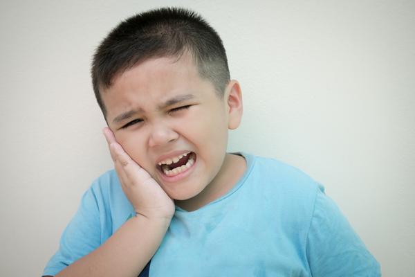 أسباب ألم الأسنان عند الأطفال