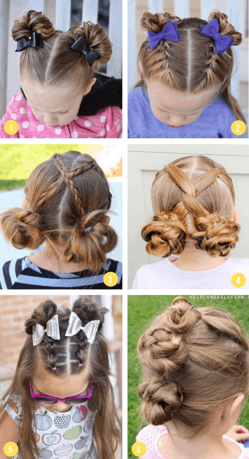Hairstyles Buns3
