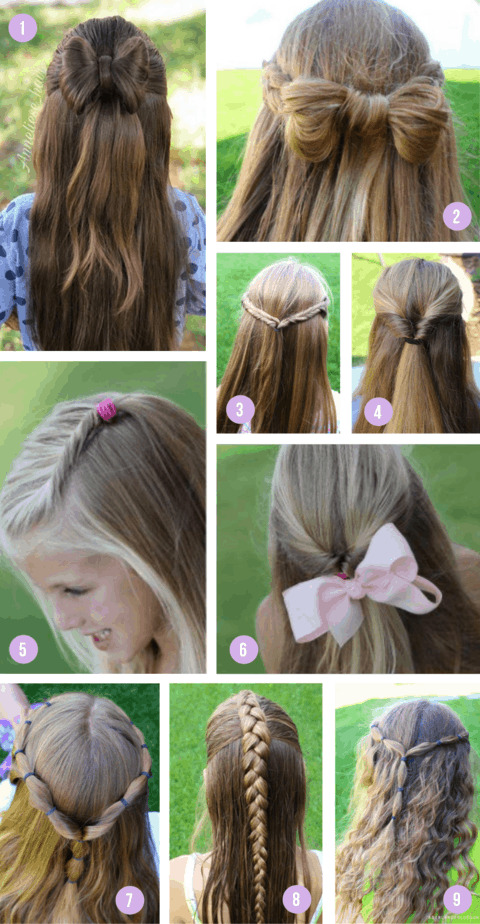 Hairstyles half up1