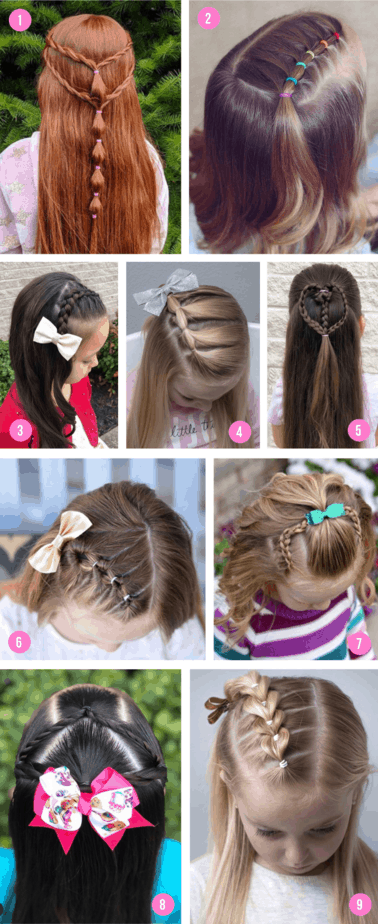 Hairstyles half up2