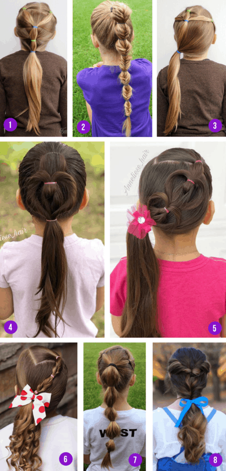 Hairstyles pony tail2
