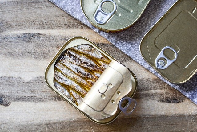 omega 3 oil small fishes