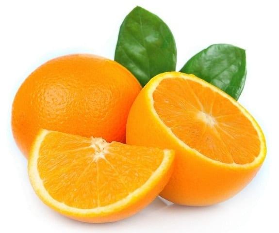 Oranges summer fruits