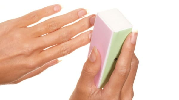 الخطوة 6: تلميع الأظافر