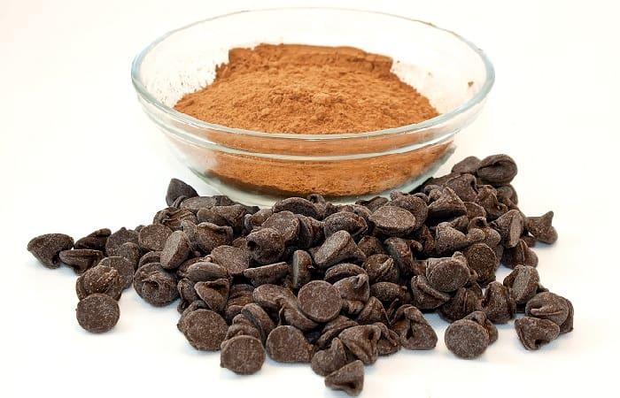 مسحوق الكاكاو للبشرة الجافة