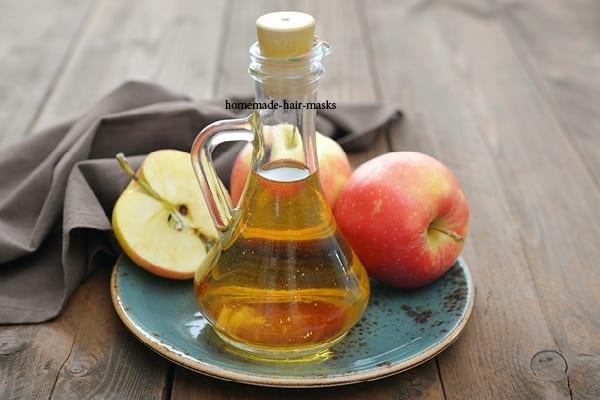خل التفاح للشعر الطويل