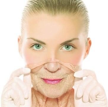 أقنعة الوجه محلية الصنع للتجاعيد