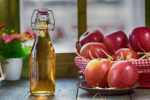 яблучний оцет для волосся