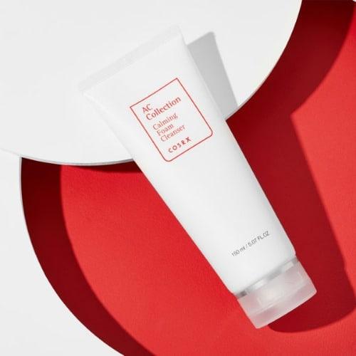 COSRX AC Collection Calming Foam Cleanser 150ml Очищающая пенка для  проблемной кожи - K-TREND CORPORATION