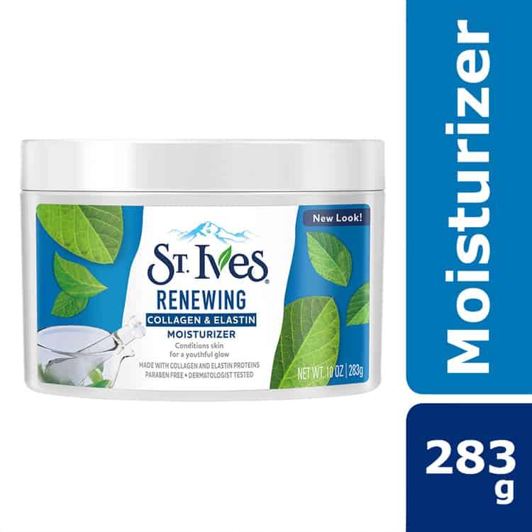 Buy St.Ives Renewing Collagen & Elastin Moisturizer 283g Online - Lulu  Hypermarket KSA