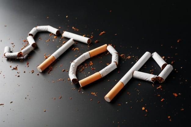 inscription stop cigarettes arreter fumer concept fumer tue inscription motivation pour arreter fumer habitude malsaine 94046 10081
