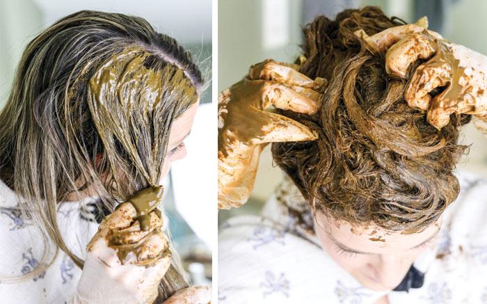 كيفية تغطية الشعر الابيض بالحناء - أونيلا