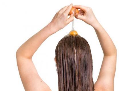 البيض مليئ ببروتينات تطويل الشعر - أونيلا
