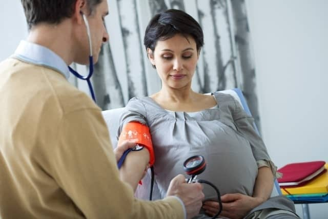 ارتفاع ضغط الدم للحامل