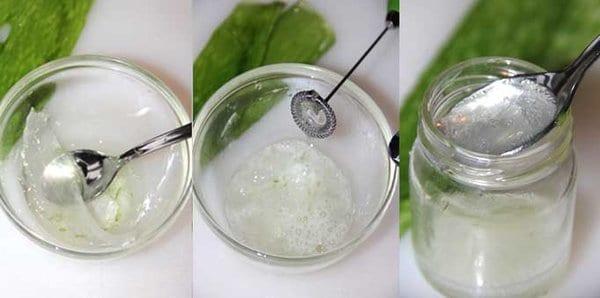 regenerating aloe vera cream very easy to prepare