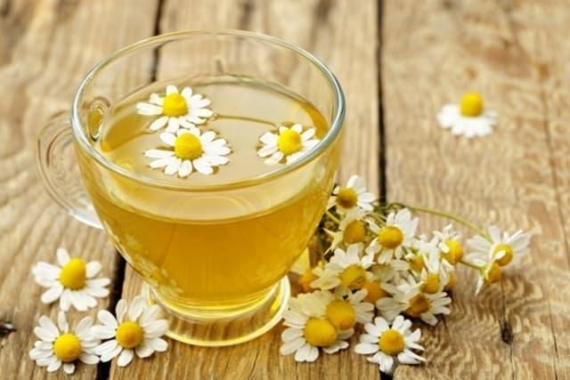 4. شاي البابونج مع النارين لعلاج التهاب الرتج - أونيلا