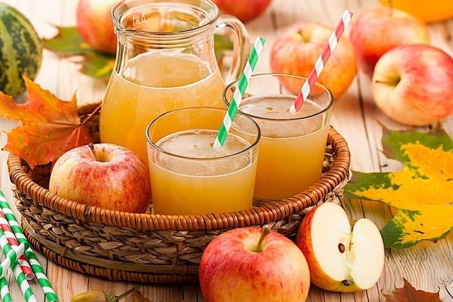 عصير التفاح لعلاج عسر الهضم - أونيلا