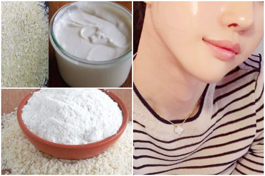 rice powder for whitening