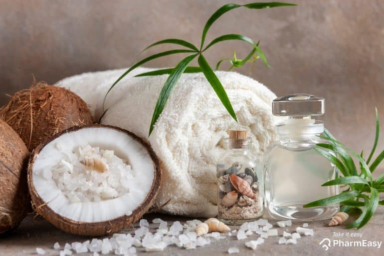 الفوائد الصحية لـ زيت جوز الهند للبشرة والشعر