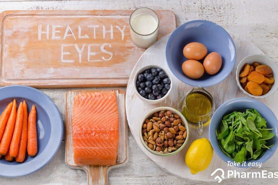 أطعمة للحفاظ على صحة العين