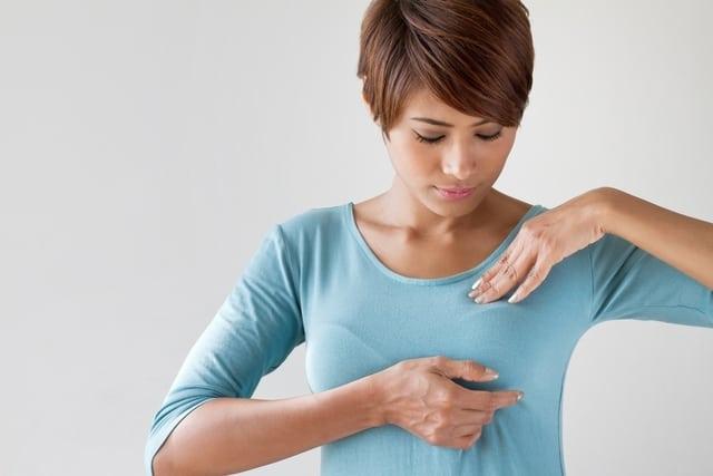علاج احتقان الثدي للمرضع: